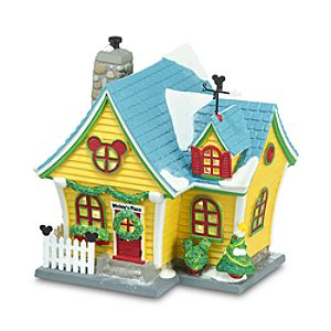Light-Up Mickeys House Building by Dept. 56