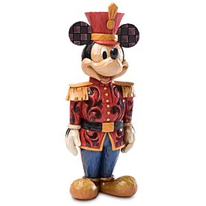 Salutations Mickey Mouse Nutcracker Figure by Jim Shore