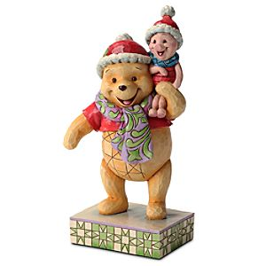 Forever Friends Piglet and Winnie the Pooh Figure by Jim Shore
