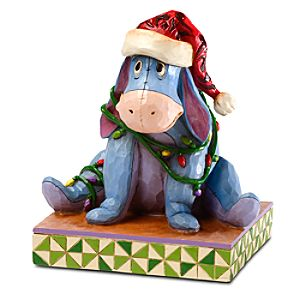 Holiday Eeyore Figure by Jim Shore
