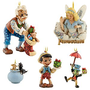 Pinocchio Ornament Set by Jim Shore