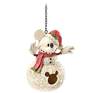 Holiday Mickey Mouse Birdhouse by Jim Shore