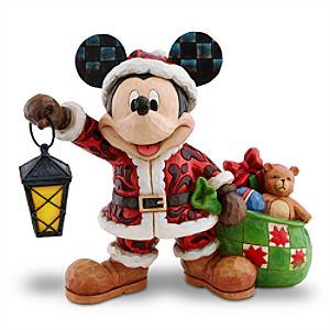 Mickey Mouse Figure by Jim Shore - Spirit of Christmas