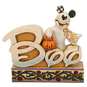 Mickey Mouse Boo Figure by Jim Shore