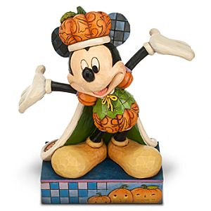 Mickey Mouse The Pumpkin King Figure by Jim Shore