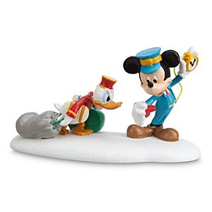 Donald Duck and Mickey Mouse Hurry Up, Donald Figurine by Dept. 56