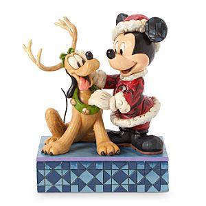 Santa Mickey Mouse Santas Best Friend Figure by Jim Shore