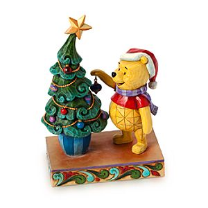 Winnie the Pooh Trim the Tree with Me Figure by Jim Shore