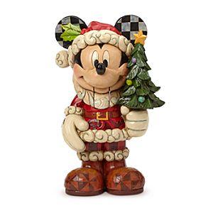 Santa Mickey Mouse Old St. Mick Nutcracker Figure by Jim Shore