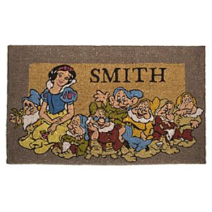Snow White Personalized Doormat