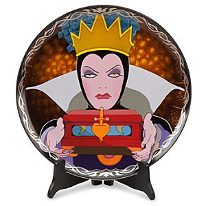 Limited Edition Disney Villains Evil Queen Art Plate