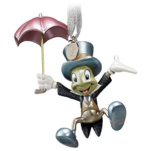 D23 Exclusive 25th Anniversary Jiminy Cricket Ornament