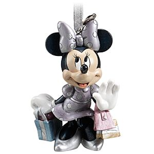 D23 Exclusive 25th Anniversary Minnie Mouse Ornament