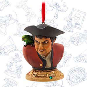 Treasure Island Limited Release Sketchbook Ornament - April 2015