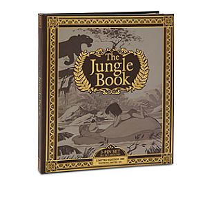The Jungle Book Limited Edition Pin Set