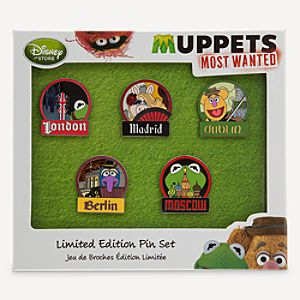 Muppets Most Wanted Limited Edition Pin Set