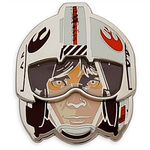 Luke Skywalker X-Wing Pilot Star Wars Pin