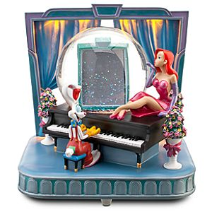 Ink and Paint Club Jessica and Roger Rabbit Snowglobe