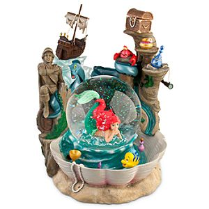 The Little Mermaid Ariels Grotto Snowglobe