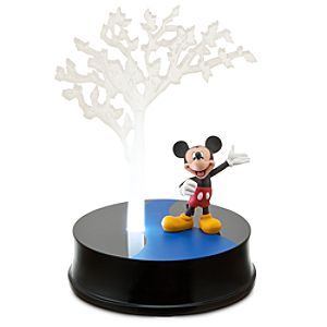 Limited Edition Disney Store 25th Anniversary Lighted Mickey Mouse Figurine