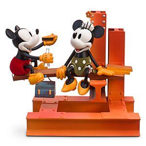 Disney Nostalgia Building a Building Mickey Mouse Figurine