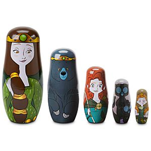 Limited Edition Brave Nesting Dolls