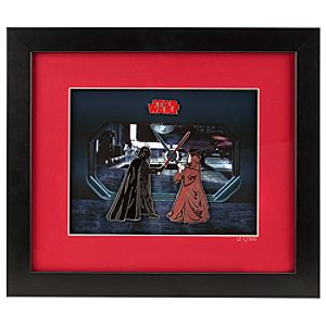 Darth Vader vs. Obi-Wan Kenobi Limited Edition Framed Pin Set