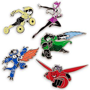 Big Hero 6 Limited Edition Pin Set - Pre-Order