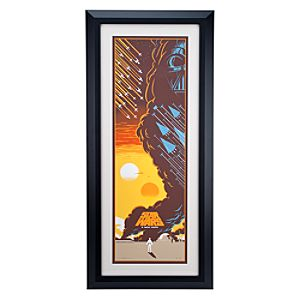 Star Wars Limited Edition Framed Serigraph by Eric Tan