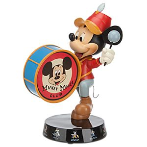 The Mickey Mouse Club Leader of the Club Mickey Mouse Figurine