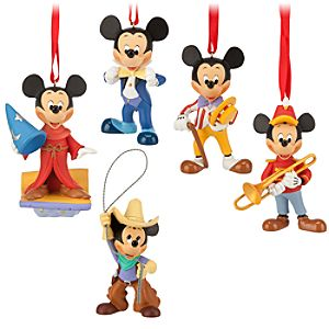 The Mickey Mouse Club Ornament Set -- 5-Pc.