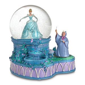 Classic Cinderella Snowglobe
