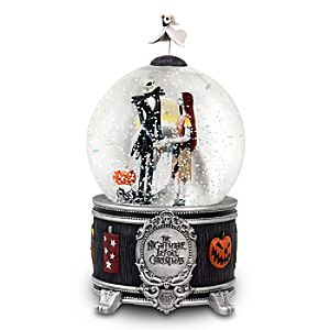 Jack Skellington and Sally Snowglobe