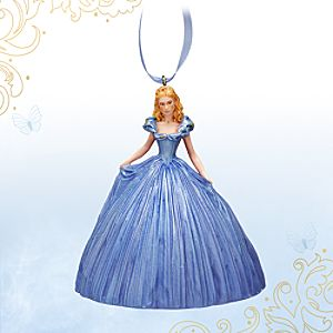 Cinderella Figural Ornament - Live Action Film