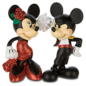 Paso Doble Minnie and Mickey Mouse Figurine