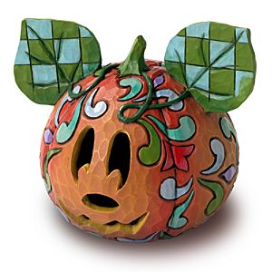 Halloween Magic Mickey Mouse Jack-O-Lantern by Jim Shore