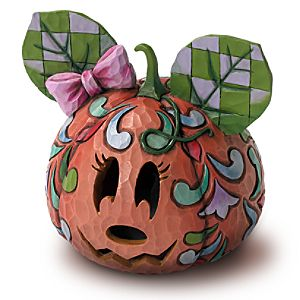 Happy Halloween Minnie Mouse Jack-O-Lantern by Jim Shore