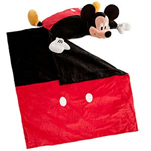 Cuddly Characters Blanket and Pillow Set -- Mickey Mouse