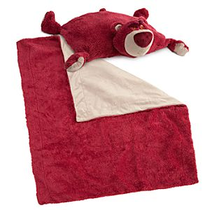 Cuddly Characters Blanket and Pillow Set -- Lots OHuggin Bear