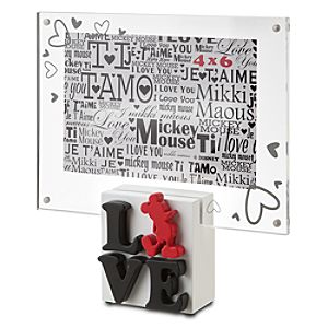 LOVE Mickey Mouse Photo Frame -- 4 x 6