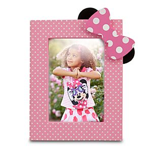 Minnie Mouse Photo Frame - 4 x 6