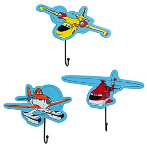 Planes: Fire & Rescue Wall Hooks Set