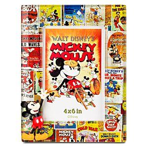 Disney Nostalgia Mickey Mouse Frame -- 4 x 6