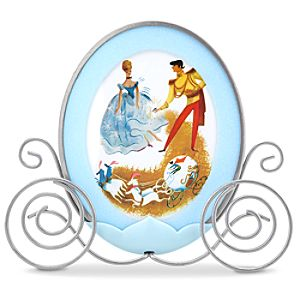 "Classic Cinderella Photo Frame -- 4"" x 6"""