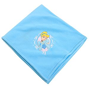 Personalizable Fleece Throw Cinderella Blanket