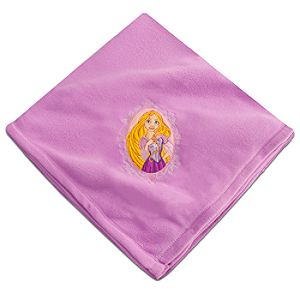 Rapunzel Fleece Throw