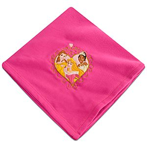Personalizable Disney Princess Fleece Blanket