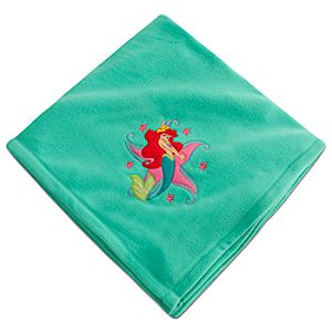 Personalizable Ariel Fleece Blanket