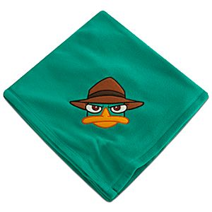 Phineas and Ferb Agent P Fleece Throw