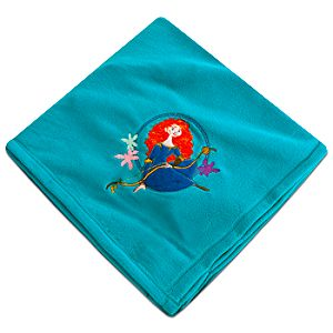 Brave Merida Fleece Throw